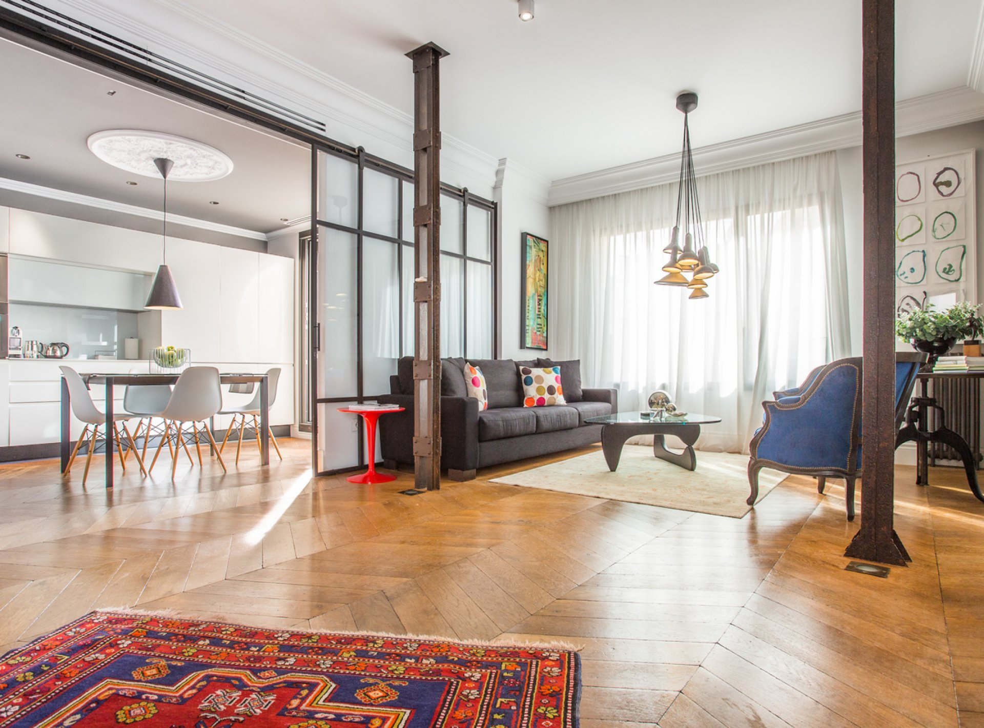 Luxury 4 Bedroom Holiday Apartment to Rent in the Madrid
