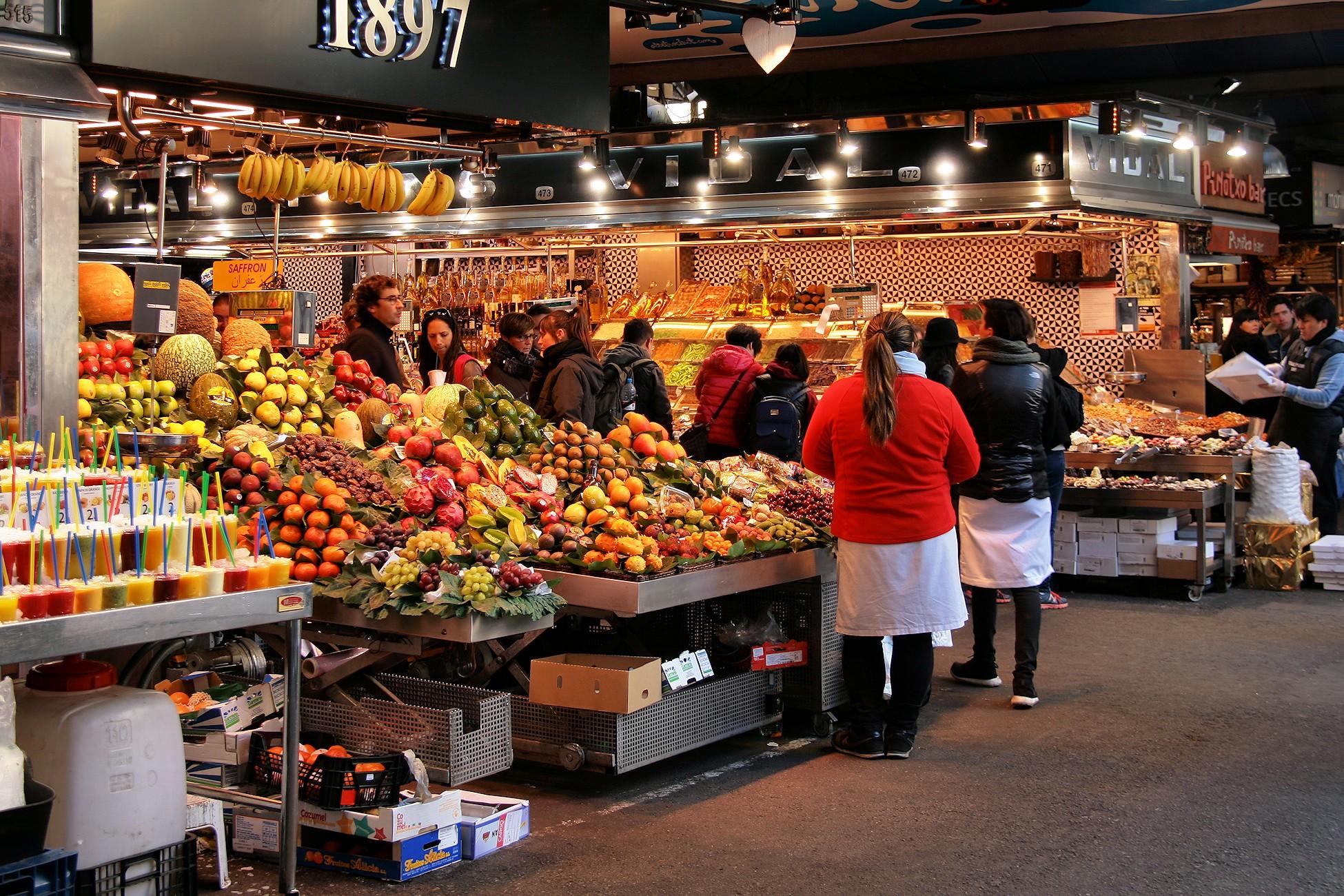 Sant Josep de la Boqueria Market