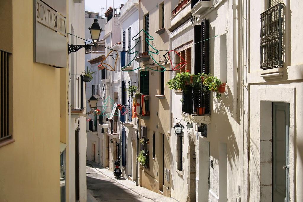 Rue à Sitges