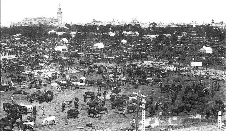 Feria de Abril in 1895