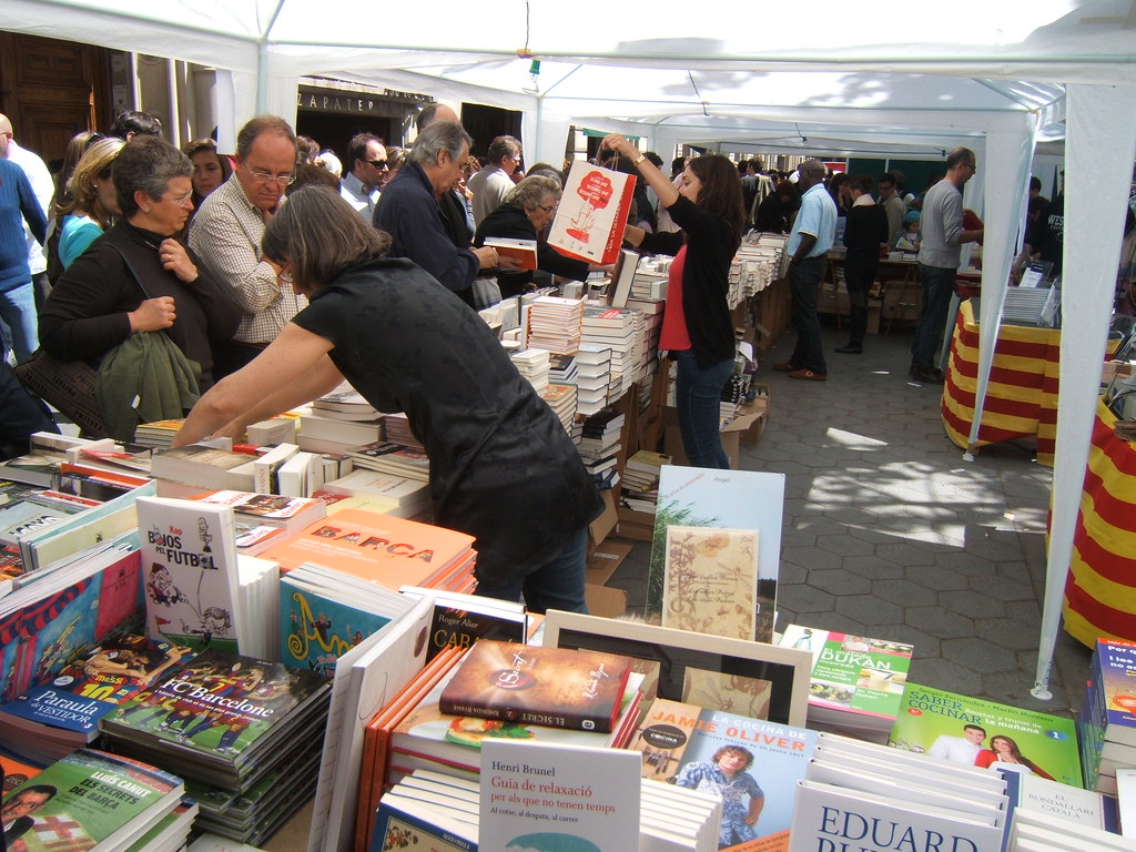Sant Jordi Book Stalls
