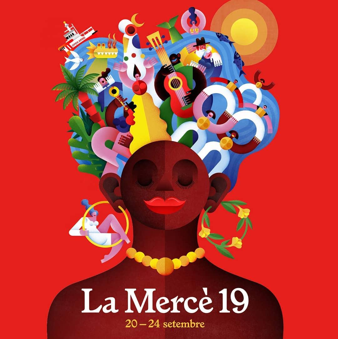 La Mercè Poster 2019