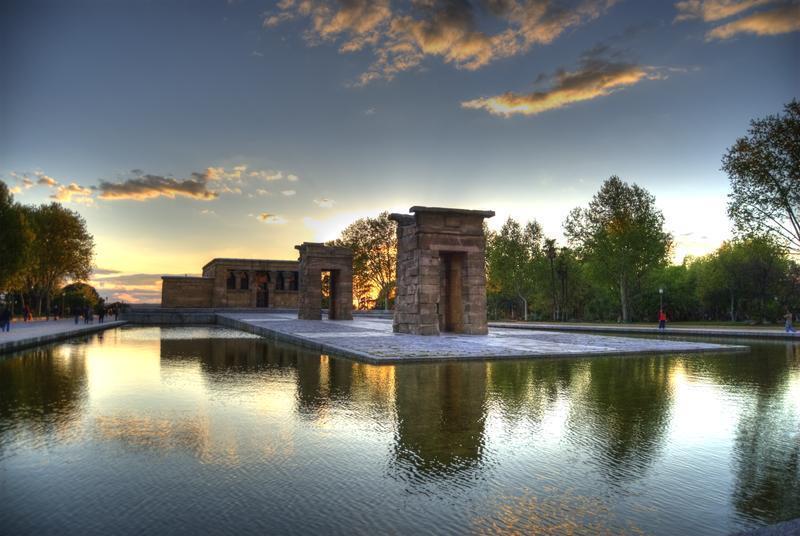 Templo de Debod in Moncloa-Arguelles