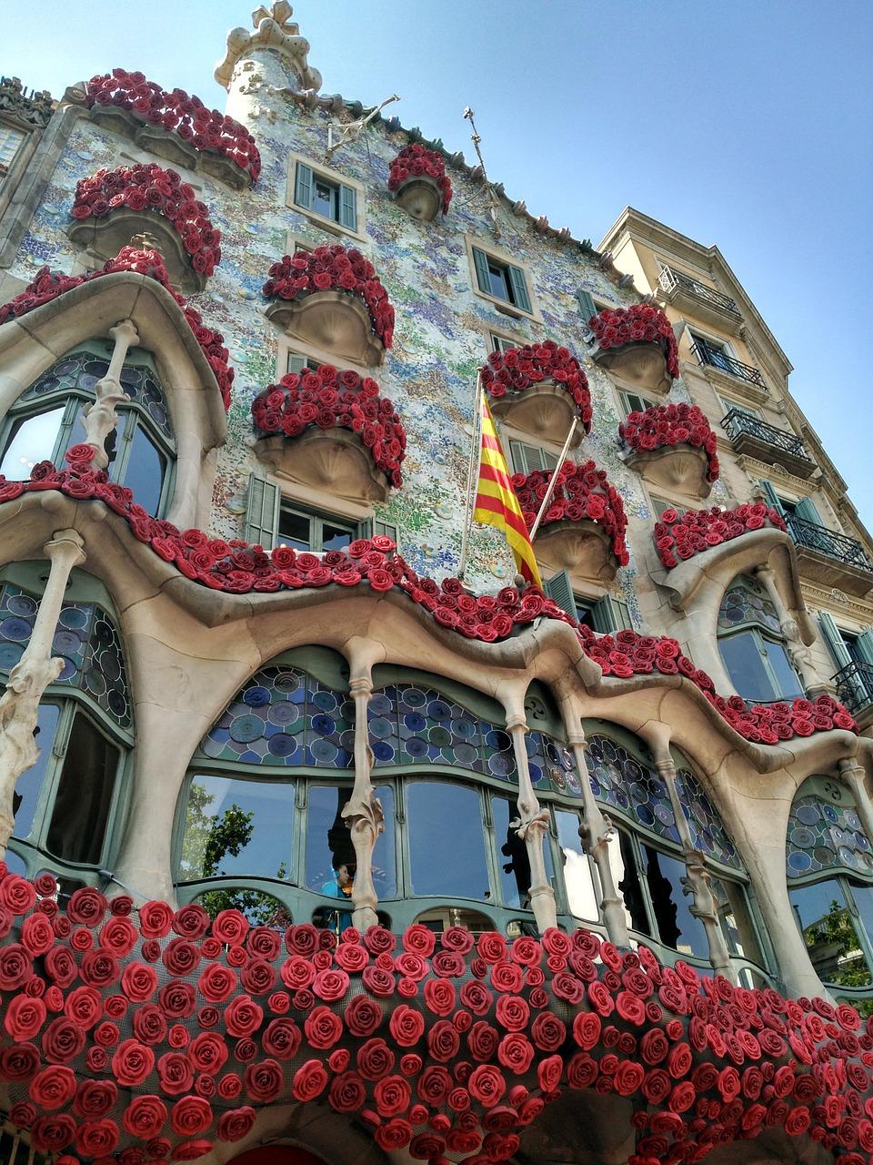 Casa Batlló on Sant Jordi